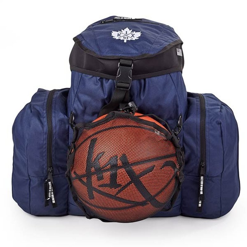Ball Camp Backpack Basketball Rucksack Blau